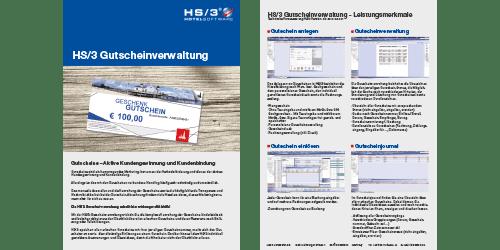 HS/3 Gutscheinverwaltung